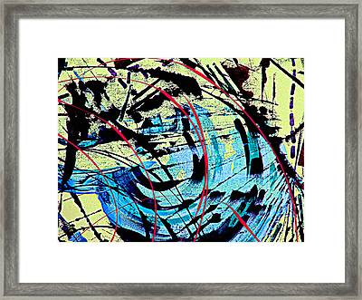 First Thoughts Of The Royal Baby About Poverty Part One Framed Print by Sir Josef - Social Critic -  Maha Art