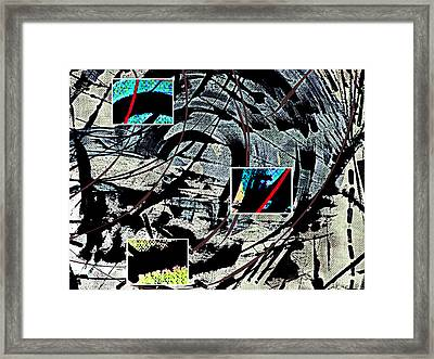 First Thoughts Of The Royal Baby About Poverty Part Three Framed Print by Sir Josef - Social Critic -  Maha Art