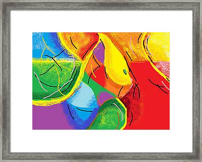 First Time Mom Framed Print by Anita Dale Livaditis