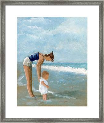 First Timer Framed Print by Karyn Robinson