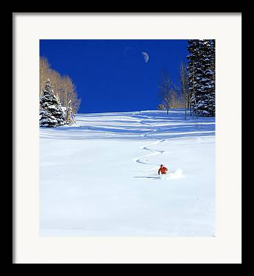 Winter Scenery Framed Prints