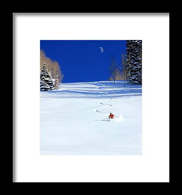 Utah Mountains Framed Prints