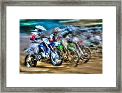 First Turn In Sight Framed Print