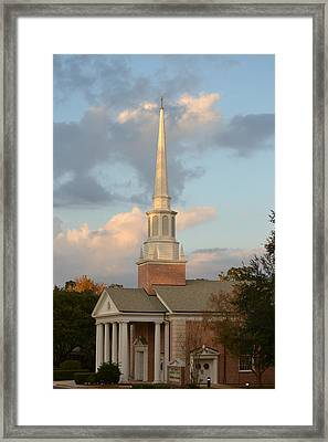 First United Methodist Church Lake City Florida Framed Print