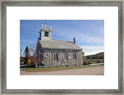 First Universalist Parish Framed Print