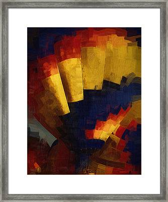Framed Print featuring the digital art First Up by Kirt Tisdale