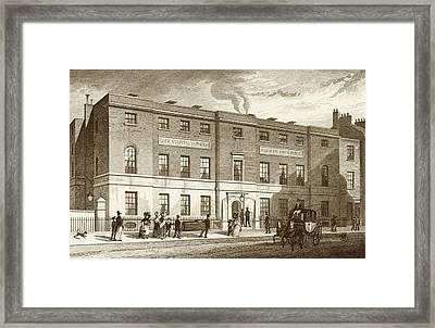 First Venereal Disease Clinic Framed Print