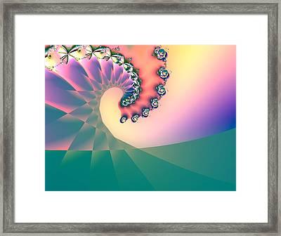 First Wave - Sunrise Framed Print by Wendy J St Christopher