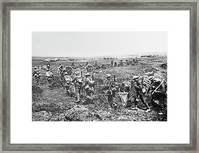 First World War Battlefield Framed Print
