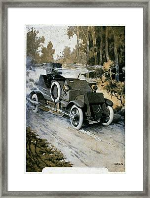 First World War Vehicle Framed Print by Cci Archives