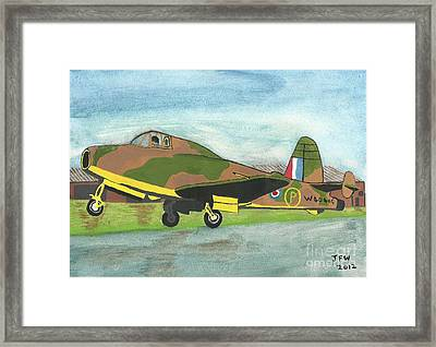 Firstflight Framed Print