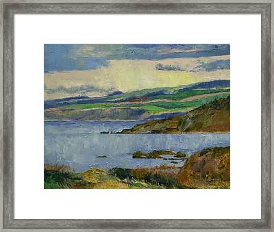 Firth Of Clyde Framed Print by Michael Creese
