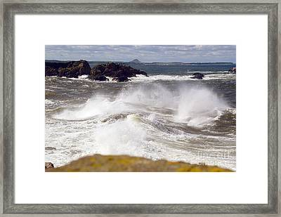 Firth Of Forth Framed Print by Rod Jones