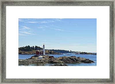 Fisgard Lighthouse Framed Print