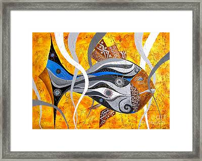 Fish 0465 - Marucii Framed Print by Marek Lutek