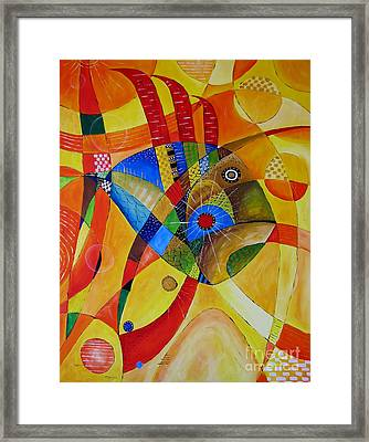 Fish 752 - Marucii Framed Print