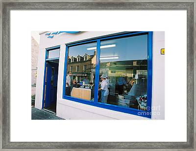 Fish And Chips - The Real Thing Framed Print
