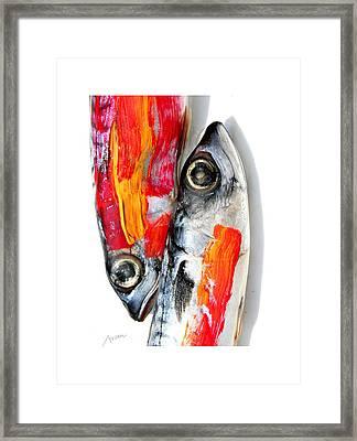 Fish Framed Print by Arsen Arsovski