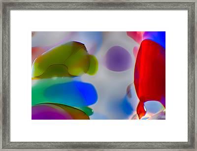 Fish Commuting Framed Print