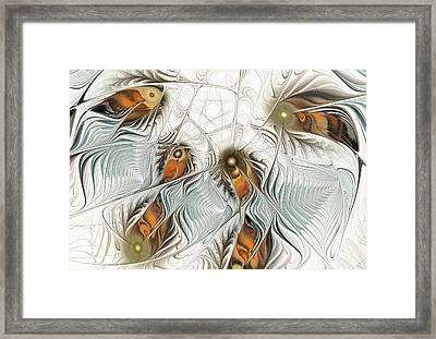 Fish Dance Framed Print