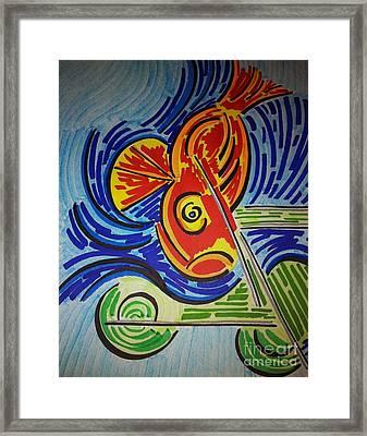 Fish Dream Framed Print
