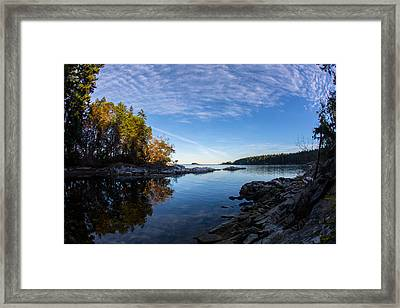 Fish Eye View Framed Print
