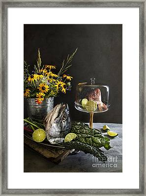 Fish Friday Framed Print by Elena Nosyreva