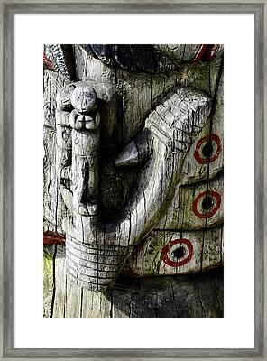 Fish Hook Framed Print by Cathy Mahnke
