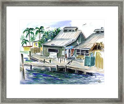 Fish House Framed Print