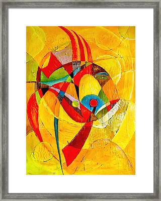 Fish II - Marucii Framed Print