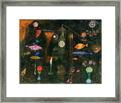 Fish Magic Framed Print