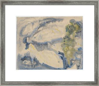 Fish Series, No. 1 Framed Print by Charles Demuth