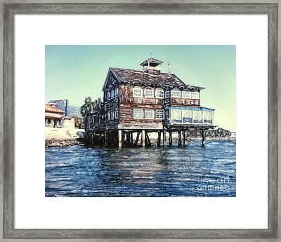 Fish Shanty Framed Print
