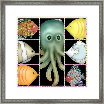 Fish Stories  Framed Print