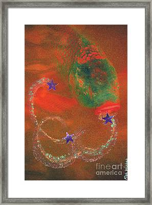 Fish Wishes  Framed Print by First Star Art