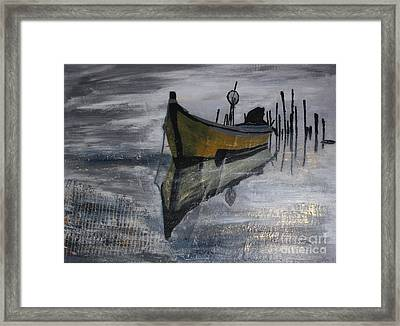 Fishboat Framed Print by Susanne Baumann