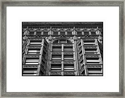 Fisher Building - 10.11.09_028 Framed Print by Paul Hasara