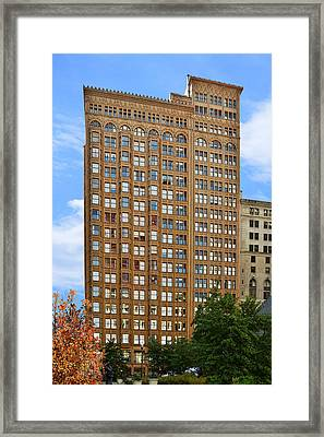 Fisher Building - A Neo-gothic Chicago Landmark Framed Print by Christine Till