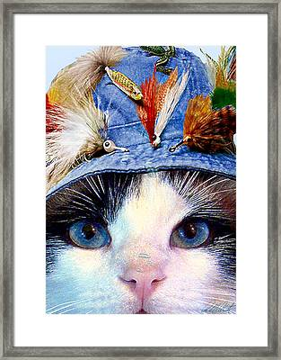 Fisher Cat Framed Print