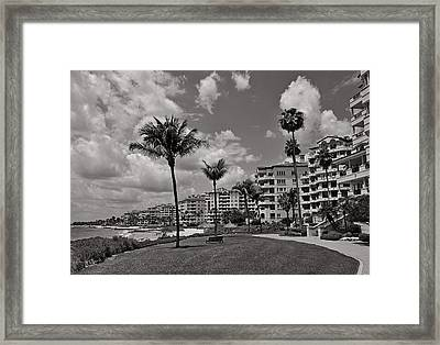 Framed Print featuring the photograph Fisher Island by Lorenzo Cassina