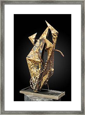 Fisher Of Men Framed Print by GK Brock