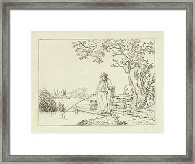 Fisher On Deck, Hermanus Fock Framed Print by Hermanus Fock