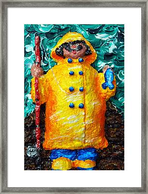Fisherman Bob Framed Print