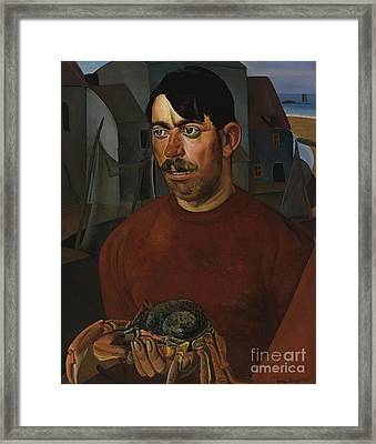 Fisherman Framed Print by Celestial Images