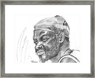 Fisherman Framed Print