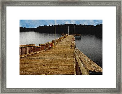 Fisherman Pier Framed Print