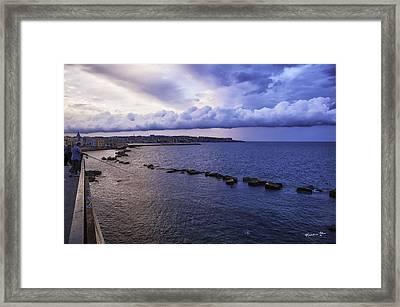 Fisherman - Sicily Framed Print by Madeline Ellis