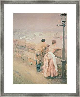 Fisherman St. Ives Framed Print