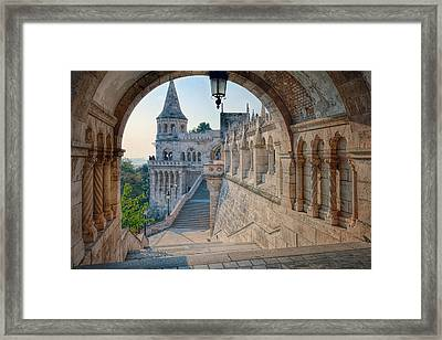 Fisherman's Bastion Budapest Framed Print