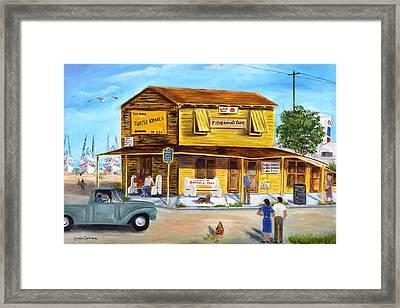 Fisherman's Cafe Framed Print